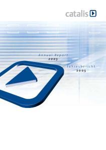 Annual Report Jahresbericht 2005