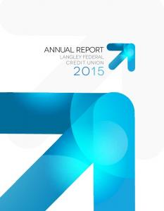 annual report langley federal credit union