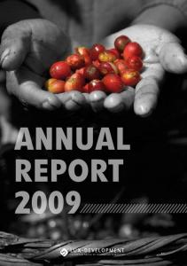 ANNUAL REPORT Luxembourg Agency for Development Cooperation