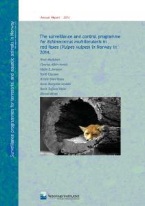 Annual Report Norwegian Veterinary Institute. Norwegian Veterinary Institute