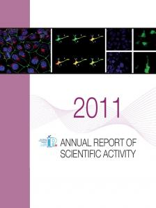 ANNUAL REPORT OF SCIENTIFIC ACTIVITY