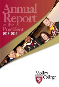 Annual Report. President. of the