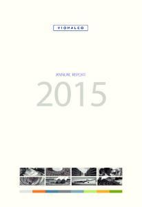 ANNUAL REPORT Viohalco Annual Report 2015
