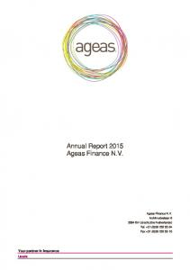 Annual Report Your partner in Insurance