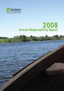 Annual Responsibility Report