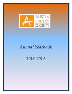Annual Yearbook