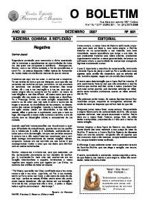 ANO 50 DEZEMBRO 2007 Nº