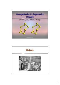 Anorganische & Organische Chemie
