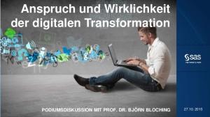 Anspruch und Wirklichkeit der digitalen Transformation