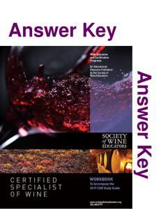 Answer Key. Answer Key