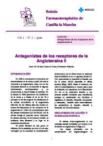 Antagonistas de los receptores de la Angiotensina II