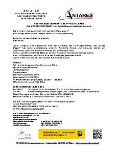 ANTARES NOE AMATEURASTRONOMEN NOE VOLKSSTERNWARTE 3074 MICHELBACH
