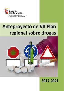 Anteproyecto de VII Plan regional sobre drogas