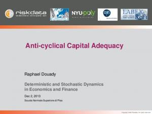 Anti-cyclical Capital Adequacy