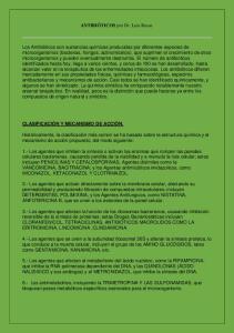 ANTIBIÓTICOS por Dr. Luis Rosas