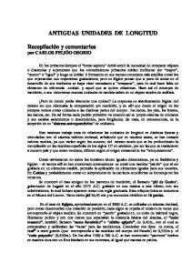 ANTIGUAS UNIDADES DE LONGITUD