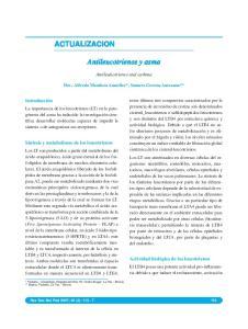 Antileucotrienos y asma