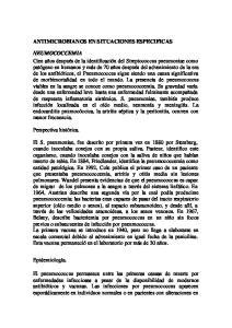 ANTIMICROBIANOS EN SITUACIONES ESPECIFICAS
