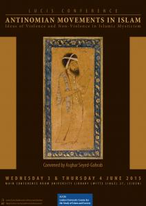 ANTINOMIAN MOVEMENTS IN ISLAM Ideas of Violence and Non-Violence in Islamic Mysticism
