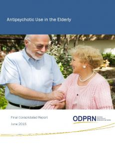 Antipsychotic Use in the Elderly