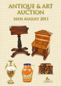 Antique & Art Auction. 16th August 2011