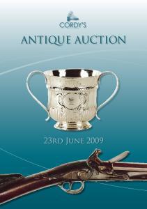 ANTIQUE AUCTION 23rd June 2009