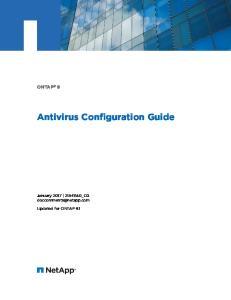 Antivirus Configuration Guide
