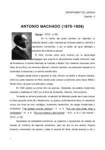 ANTONIO MACHADO ( )