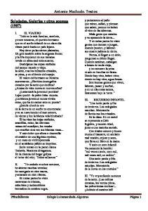 Antonio Machado. Textos