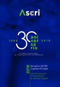 Anuario ASCRI Capital Privado. ASCRI Directory Private Equity & Venture Capital