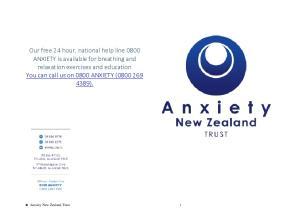 Anxiety New Zealand Trust 1