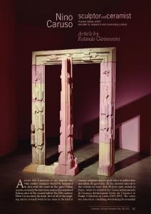 Anyone who is involved in art criticism and. Caruso. Nino sculptorandceramist. Article by Rolando Giovannini