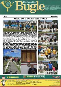 ANZAC DAY at HAKARU and KAIWAKA