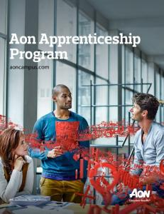 Aon Apprenticeship Program
