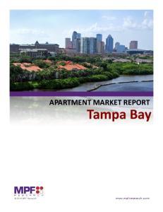 APARTMENT MARKET REPORT Tampa Bay