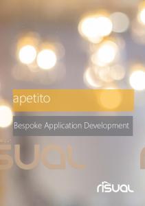 apetito Bespoke Application Development