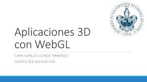 Aplicaciones 3D con WebGL
