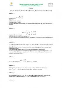 Aplicaciones de las derivadas)
