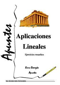 Aplicaciones Lineales