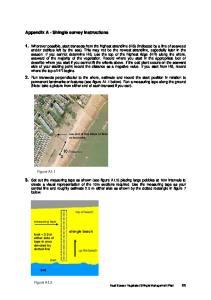 Appendix A - Shingle survey instructions