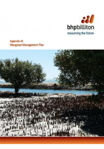Appendix A2 Mangrove Management Plan