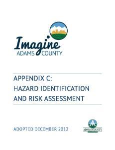 APPENDIX C: HAZARD IDENTIFICATION AND RISK ASSESSMENT