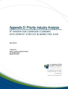 Appendix D: Priority Industry Analysis