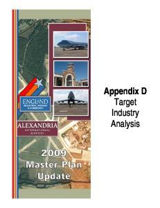 Appendix D Target Industry Analysis
