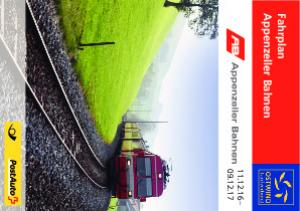 Appenzeller Bahnen Fahrplan