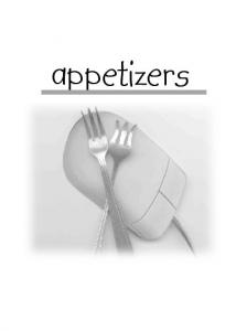 APPETIZERS & HORS D OEUVRES ASPARAGUS ROLLUPS
