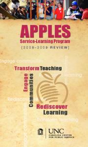 APPLES Service-Learning Program