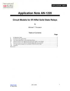 Application Note AN-1220