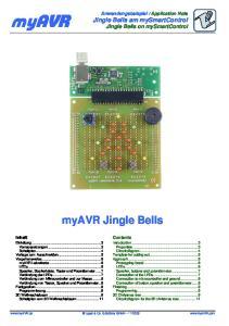 Application Note Jingle Bells am mysmartcontrol Jingle Bells on mysmartcontrol