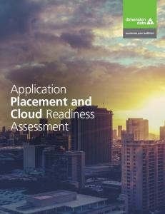 Application Placement and Cloud Readiness Assessment
